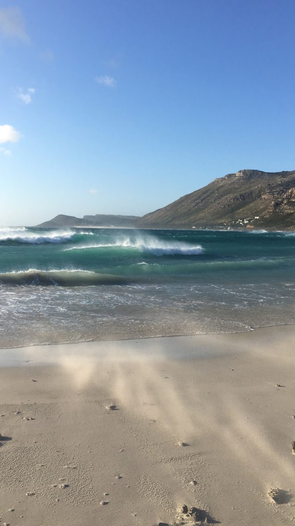 Vacation near the atlantic ocean in cape town