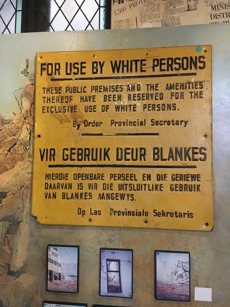 apartheid signs that say for use by white person only