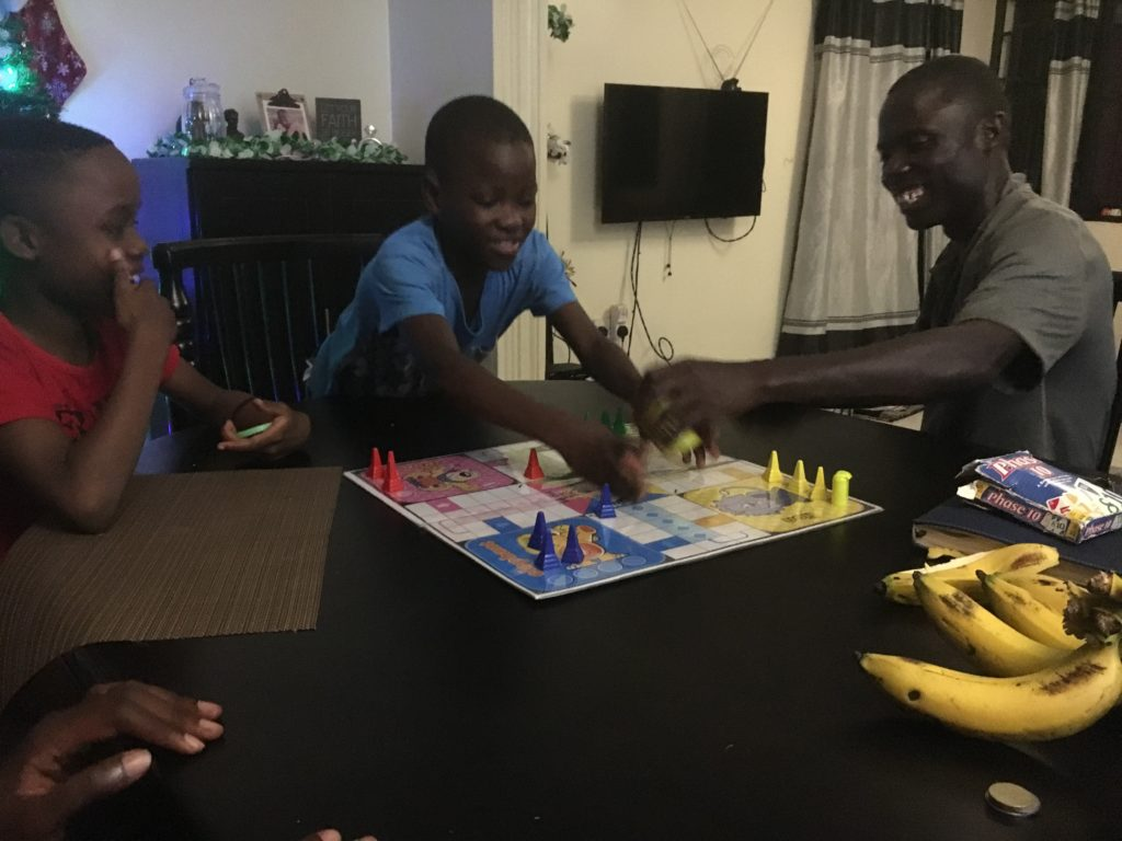 game night with kids