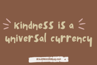 Kindness is universal